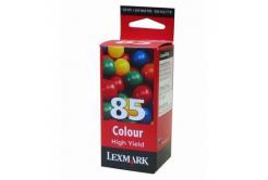 Lexmark 12A1985E kolorowa (color) tusz oryginalna
