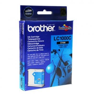 Brother LC-1000C błękitny (cyan) tusz oryginalna