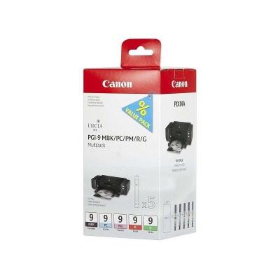 Canon PGI-9 MBK+PC+PM+R+G 1033B013 multipack tusz oryginalna
