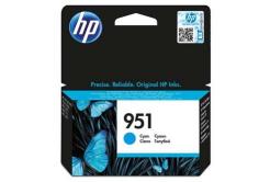 HP CN050AE, č.951 błękitny (cyan) tusz oryginalna