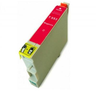 Epson T0553 purpurowy (magenta) tusz zamiennik