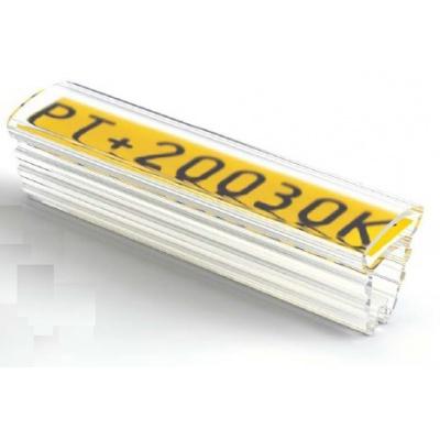 Partex PT+30015A tuleja 15 mm, 50 szt., (8,0-16,0 mm), PT transparentny oznacznik z kieszenią