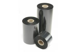 """TTR taśma, woskovo-pryskyřičná (wax-resin) 110mm x 74m, 1 / 2"""", OUT czarny"""