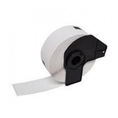 Brother DK-22211, 29mm x 15,24m, biały, film, etykiety zamiennik
