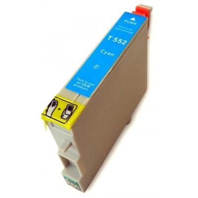 Epson T0552 błękitny (cyan) tusz zamiennik