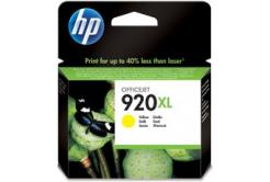 HP č.920XL CD974AE žlutá (yellow) originální cartridge, prošlá expirace