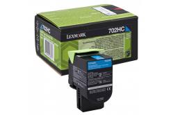 Lexmark 70C2HC0 błękitny (cyan) toner oryginalny