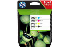 HP tusz oryginalna multipack 3HZ51AE, HP 903XL, CMYK, 825 stron, HP