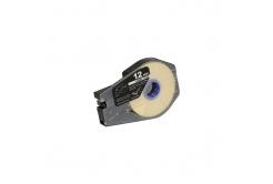 Taśma zamiennikCanon / Partex M-1 Std / M-1 Pro, 12mm x 30m, kazeta, biały