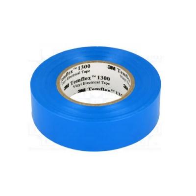 3M Temflex 1300 Taśma elektroizolacyjna , 15 mm x 10 m, niebieski