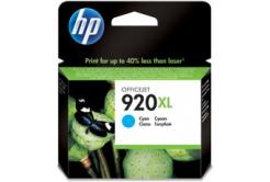 HP č.920XL CD972AE azurová (cyan) originální cartridge, prošlá expirace