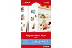 """Canon 3634C002 Magnetic Photo Paper, papier fotograficzny, błyszczący, biały, 10x15cm, 4x6"""", 670 g/m2, 5 szt."""