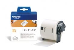 Brother DK-11202, 62mm x 100mm, etykiety papierowe oryginalne