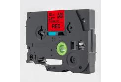 Taśma zamiennik Brother TZ-FX431 / TZe-FX431, 12mm x 8m, flexi, czarny druk / czerwony podkład