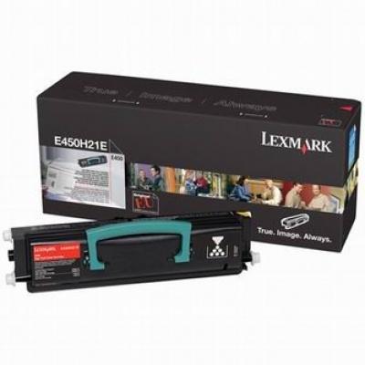 Lexmark E450H21E czarny (black) toner oryginalny