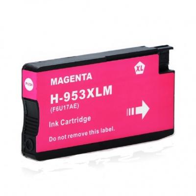 HP 953XL F6U17AE purpurowy (magenta) tusz zamiennik