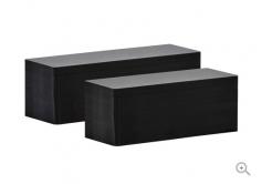 Evolis C8152 50x150mm PVC karty, matowo czarne, 100szt