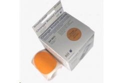 Seiko adresní kruh - oranžový 57mm, 120ks/rolka