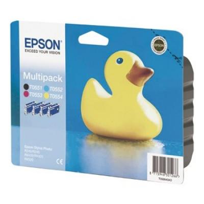 Epson T055640AO multipack tusz oryginalna