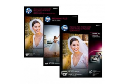 """HP CR677A Premium Plus Glossy Photo Paper, papier fotograficzny, błyszczący, biały, 10x15cm, 4x6"""", 300 g/m2, 25 szt."""