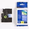 Brother TZ-535 / TZe-535, 12mm x 8m, biały druk / niebieski podkład, taśma oryginalna