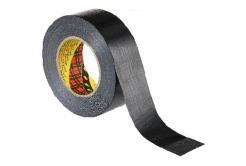 3M 2904 mocna uniwersalna taśma tekstylna, czarna, 48 mm x 50 m