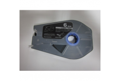 Taśma zamiennikCanon / Partex M-1 Std / M-1 Pro, 6mm x 30m, kazeta, stříbrná