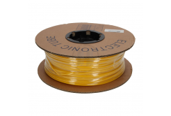 Označovací oválná PVC bužírka, PO profil, BF-20, 2 mm, 200 m, żółty