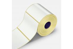 Samoprzylepne etykiety 100x100 mm, 500 szt., papírové pro TTR, rolka