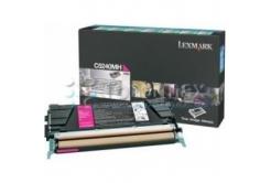 Lexmark C524RMH purpurowy (magenta) toner oryginalny