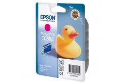 Epson T0553 purpurowy (magenta) tusz oryginalna