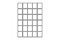 Samoprzylepne etykiety 40 x 46 mm, 30 etykiet, A4, 100 arkuszy