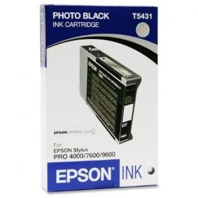 Epson T543100 czarny (black) tusz oryginalna