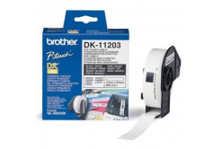 Brother DK-11203, 17mm x 87mm, etykiety papierowe oryginalne