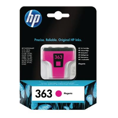 HP 363 C8772EE purpurowy (magenta) tusz oryginalna