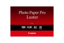 """Canon LU-101 Photo Paper Luster, papier fotograficzny, błyszczący, biały, A2, 16.54x23.39"""", 25 szt., 6211B026"""
