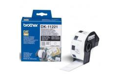 Brother DK-11221, 23mm x 23mm, etykiety papierowe oryginalne