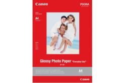 """Canon GP-501 Glossy Photo Paper, papier fotograficzny, błyszczący, biały, 10x15cm, 4x6"""", 210 g/m2, 5 szt., 0775B076"""