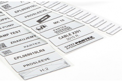 Partex EPL035018LR9C 35x18mm, bílá, 1000 szt., EPL panelový štítek