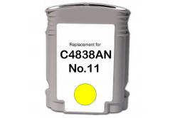 HP 11 C4838A żółty (yellow) tusz zamiennik